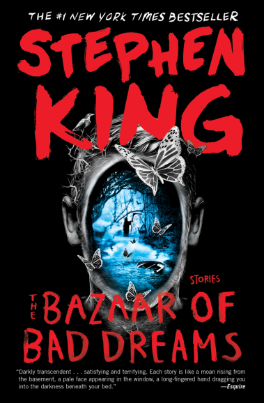'The Bazaar of Bad Dreams' by Stephen King.